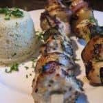 Greek Chicken Kabobs….