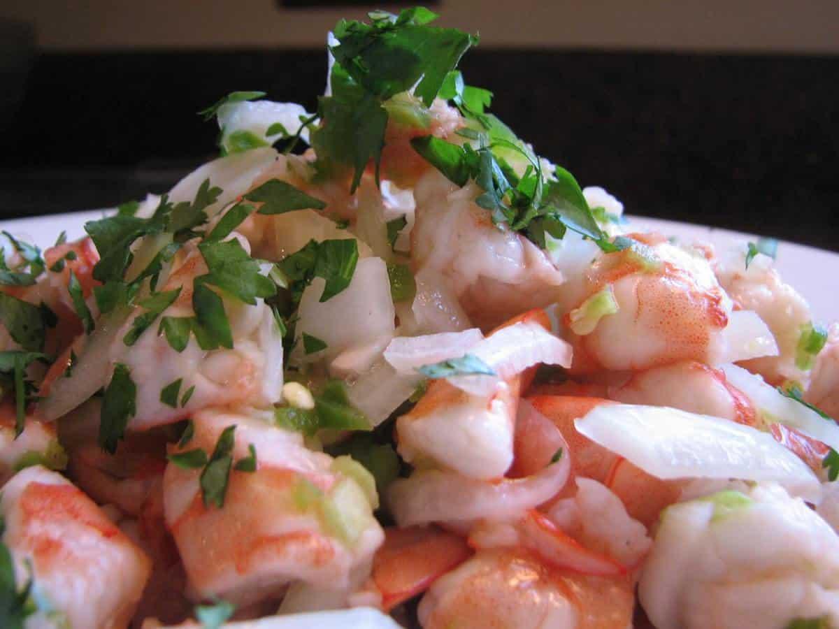 Mixed Seafood Ceviche Recipe — Dishmaps