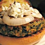 Kale Burger. The Secret Recipe Club….