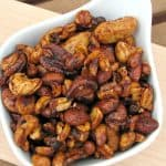 Sweet and Spicy Chili Nuts, Secret Recipe Club….