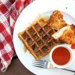 Buttermilk Fried Chicken and Sweet Potato Waffles