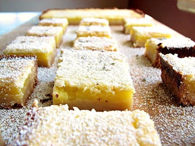 The best lemon bars you'll ever taste