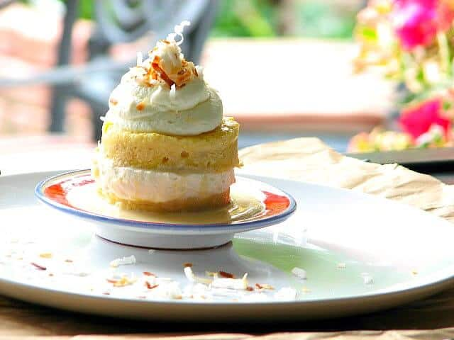 Delicious and moist this tres leches cake tastes amazing!