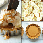 Mini Banoffee Pie with Whipped Cream