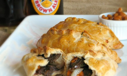 Traditional Meat Filled Cornish Pasty