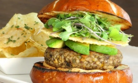 Healthy Mixed Grains Veggie Burger