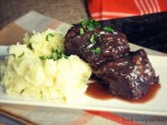 Amazing slow cooked short ribs melt in your mouth