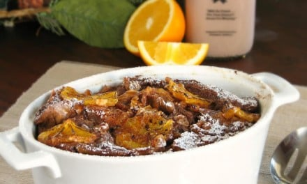 Chocolate Orange Bread Pudding