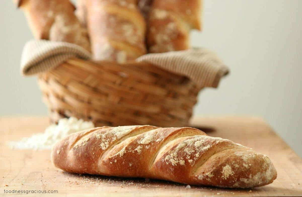 Easy French Baguettes Recipe