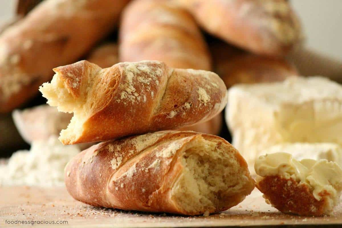 French Baguettes, from Baking with Julia :