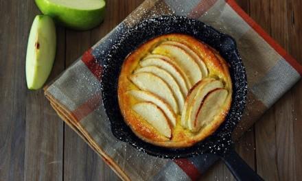 Skillet French Apple Tart
