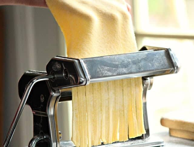 Fresh homemade pasta dough