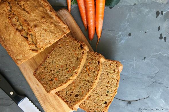Carrot Cake Loaf All Recipes: Fresh Carrot Zucchini Bread Loaf Cake Recipe