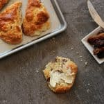Fresh Goat Cheese Scones with Dates