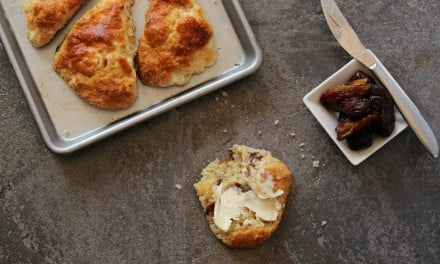Goat Cheese and Date Scones
