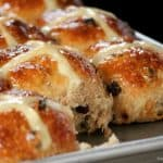 Sweet and spicy hot cross buns