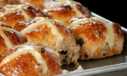 Traditional Spiced Hot Cross Buns