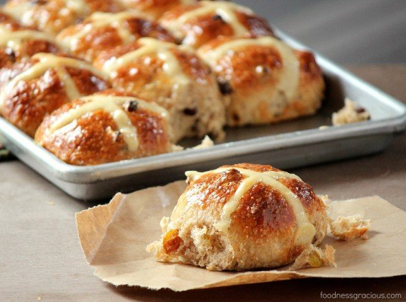 Amazing hot cross buns