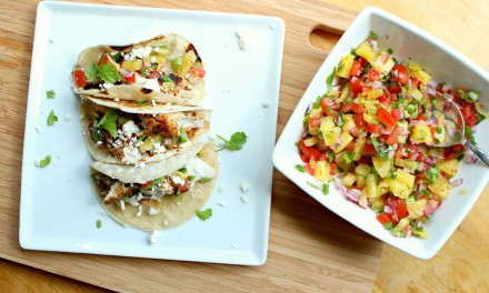Monchong Fish Tacos with Pineapple Salsa
