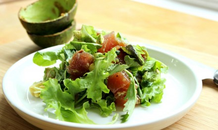 Fresh Poke and Avocado Salad