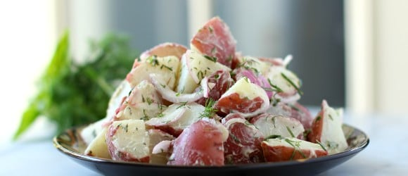 herb potato salad 018