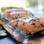 Fresh Alaskan Grilled Salmon
