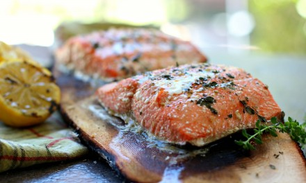 Fresh Alaskan Grilled Salmon