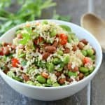 Edamame Salad with Pinto Beans