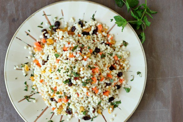 Easy couscous salad for the summer