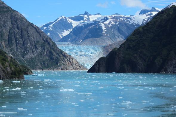 Glaciers in Alaska with Disney Cruise Line