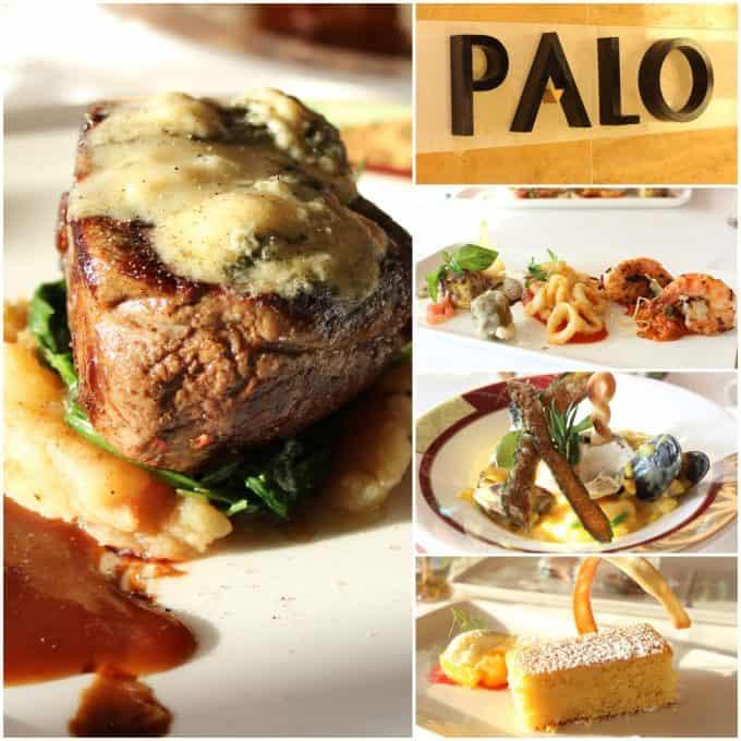 Fantastic food at Palo on Disney Cruise Line
