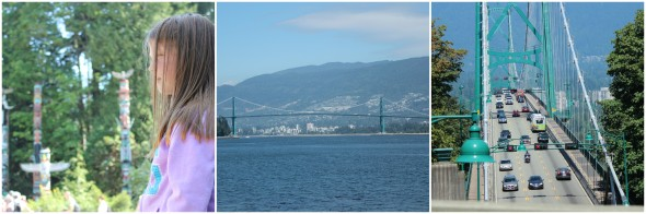 The sights of Vancouver, Canada