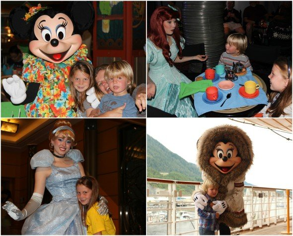 Having fun on board The Disney Magic