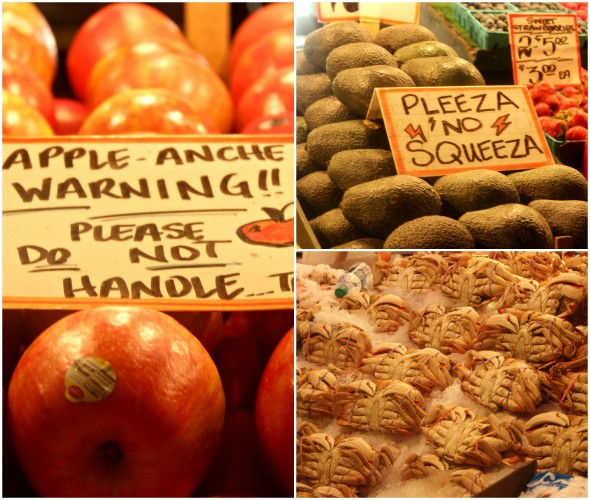 Pike Place fruit market