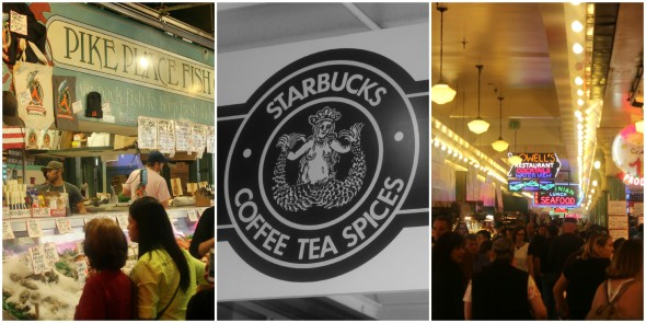 The very first Starbucks in Seattle
