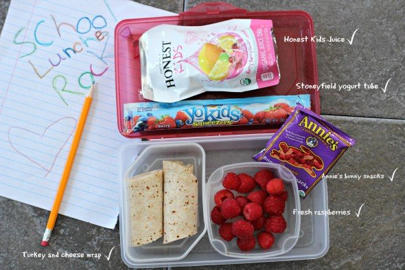 Lunch box options for back to school