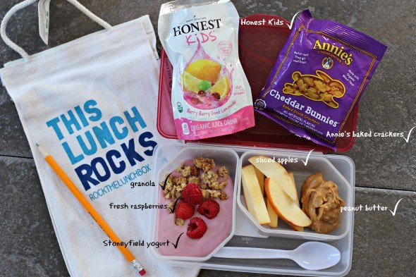 Easy back to school lunches