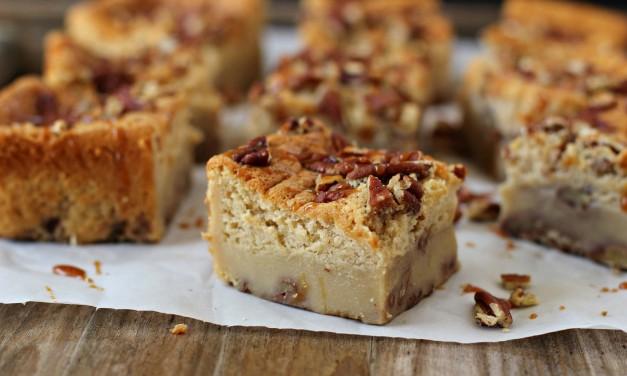 Pecan Pie Magic Cake Bars Recipe