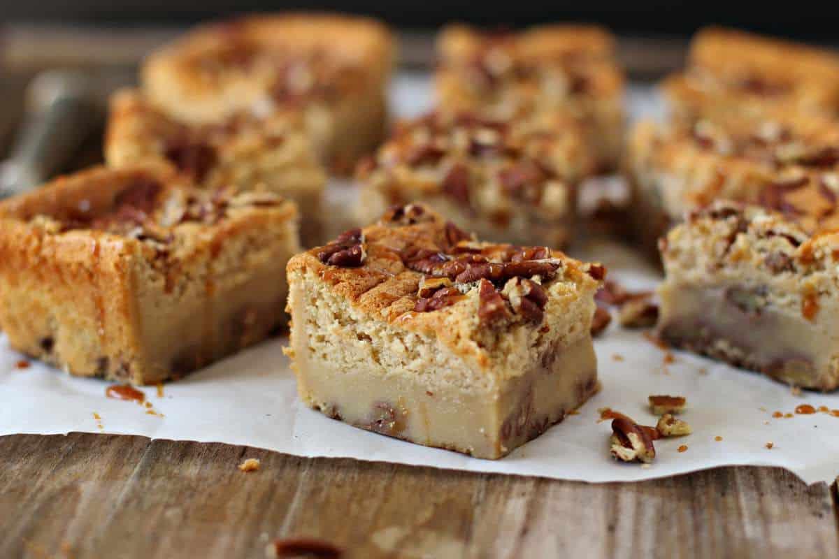 Gingerbread Magic Cake Bars Recipe
