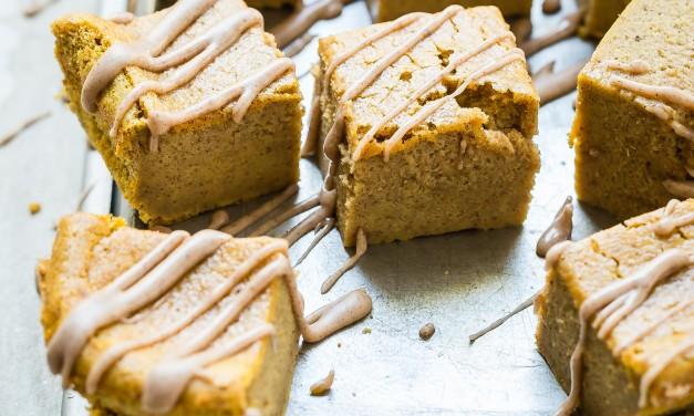 Pumpkin Magic Cake Recipe with a Pumpkin Spice Icing