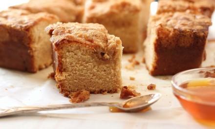 Honey Streusel Coffee Cake Recipe