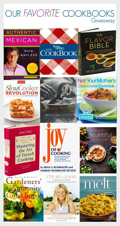 Huge Cook Book #Giveaway!