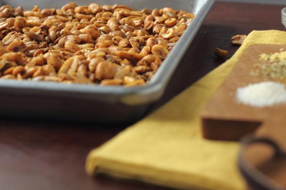Amazing spicy nut mix