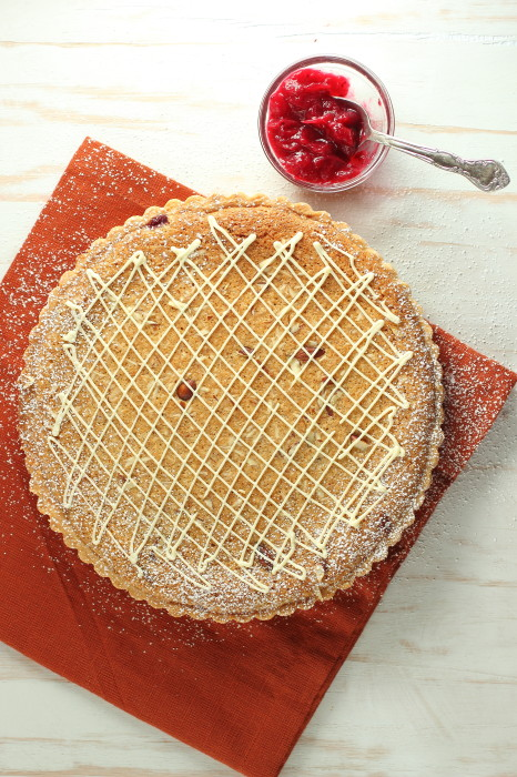 The best white chocolate tart ever!