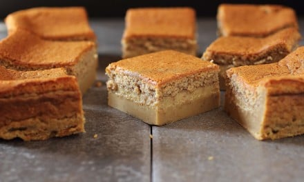 Gingerbread Magic Cake Bars Recipe