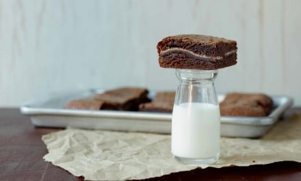 Peppermint Bar Chocolate Brownies