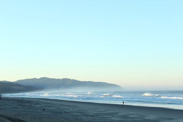 An amazing beach in Oregon