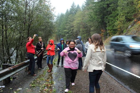 Rainy days in Oregon