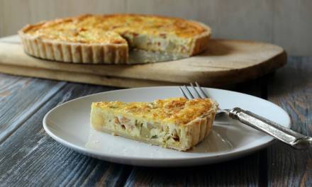 Bacon and Potato Breakfast Quiche