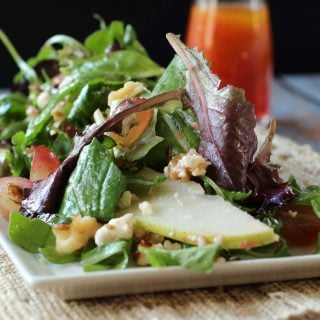 Pear, Walnut and Gorgonzola Salad